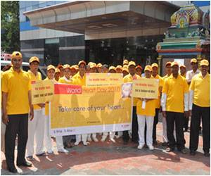 World Heart Day Doctors' Rally Organized by Glenmark Pharmaceuticals