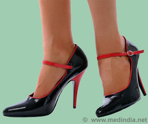 10cm High Heels for More Than Three Times a Week Can Damage Ankle Muscles in Women