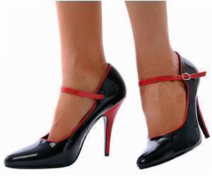 High-heel Wearers Have Problems in Walking Flatfoot