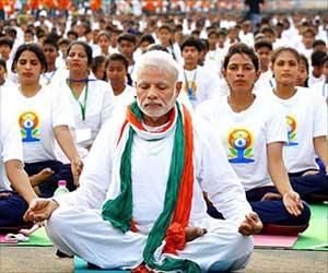 Make Yoga A Part Of Your Healthy Lifestyle, Says Modi