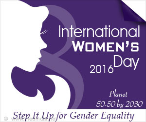International Women's Day 2016 -