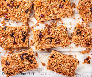 Iron-Fortified Bars Can Help Combat Anemia