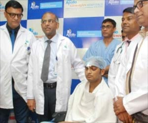 Patient Discharged After Having an Iron Rod Pierce His Head