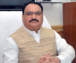 Health Minister JP Nadda Reviews Ongoing Programs In Northeastern States