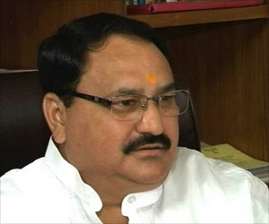 Indian Union Health Minister JP Nadda Launches Clean and Green Campaign at AIIMS