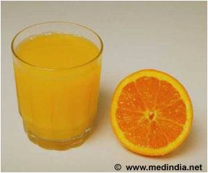 Compared to a Control Drink, Orange Juice Consumption Improves Cognitive Function