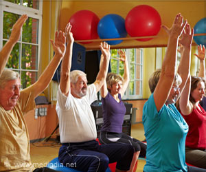 Nursing Home Residents Benefit from Exercise Program