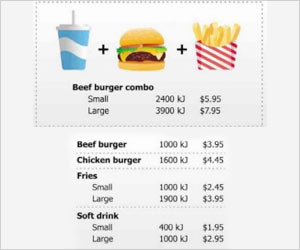 Mcdonald�s to Alter Its Menu to Help People Make Healthier Food Choices in Australia