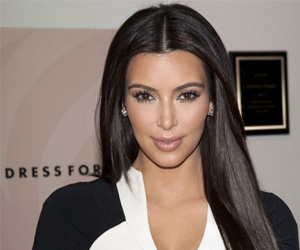 Kim Kardashian Suffers from Hair Loss