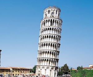 The Leaning Tower of Pisa is Steadily 'Straightening'