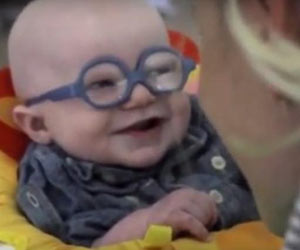 Baby With Rare Disorder Sees Mother Clearly for the First Time