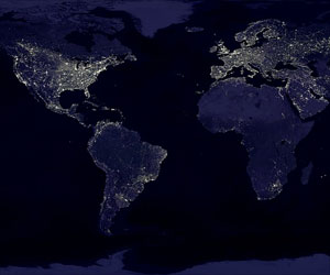New Map Reveals Light Pollution Around the Globe