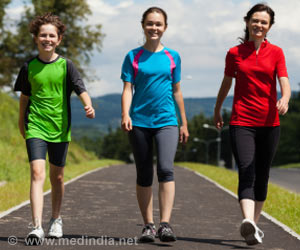 Brisk Walks can Reduce Risk of Heart Disease