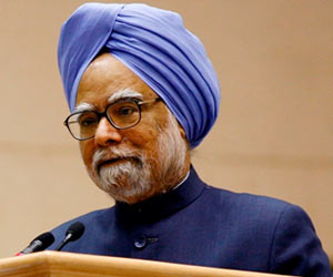 Manmohan Singh Says Poverty is India's Greatest Problem