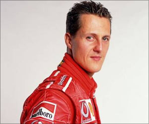 Schumacher's Injury Due to Smashing Head into a Bolder 34 Feet Down Mountain