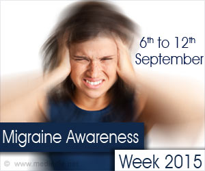 Migraine Awareness Week 2015