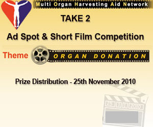 Prize Winning Films Promote Organ Donation Awareness in India