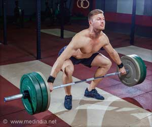 Secret to Success in Elite Weightlifting: Strong Pair of Knees