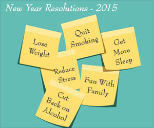 Top 10 New Year's Healthy Resolutions