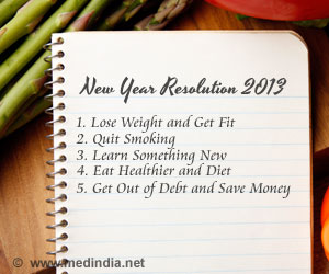 Ten New Year Resolutions For Your Health