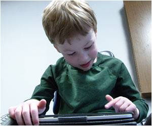 Five-Year-Old Boy Uses IPad to Speak