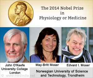 Nobel Prize 2014 for Medicine Goes to Trio for Discovering Brain's GPS