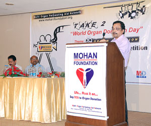World Organ Donation Day 2010: 'Take 2, Give a Second Chance in Life'
