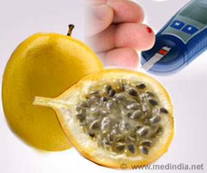 Yellow Passion Fruit Peel Flour Good for Diabetics