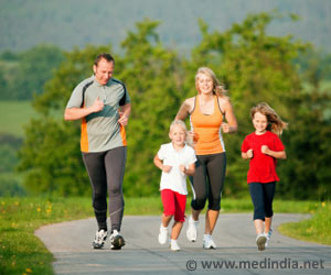Parental Role Model Promotes Increased Activity in Children