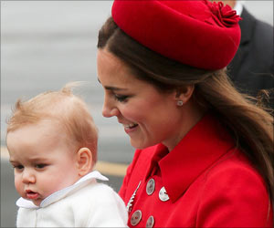 New Aging Software Predicts the Future Faces of Prince George At Different Stages of Life