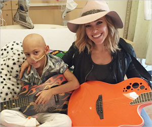 7-Year-Old Cancer Survivor Gets a Sweet Surprise From His Favorite Singer, 'Rachel Platten'