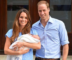 Prince William Equalizes Newborn Prince George's Voice to a Lion's Roar