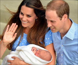 Royal Baby Officially Named as 'His Royal Highness Prince George Alexander Louis of Cambridge'