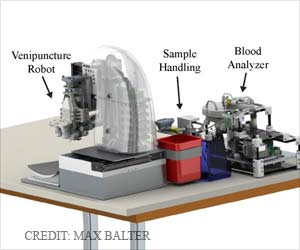 Novel Automated Robotic Device for Faster Blood Testing