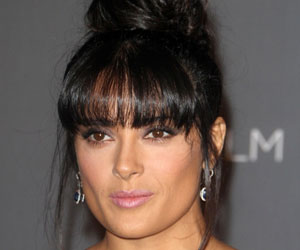 What is Salma Hayek's Take on Pregnancy?