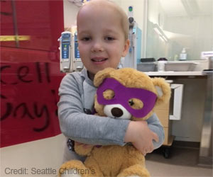 A Teddy Bear Helps Children Fight Cancer