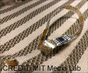 New E-sensors Woven into Fabrics can Track Your Vital Signs Remotely