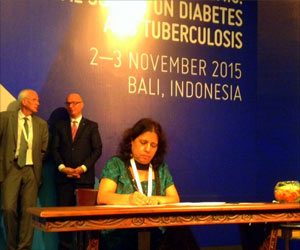 Indonesia Signs Bali Declaration to Prevent the Looming TB Diabetes Co-epidemic