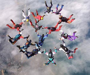 Multiple Sclerosis Patient Skydives Over Mount Everest