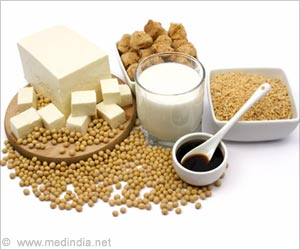 Fewer Hot Flashes in Certain Women With Soy Intake