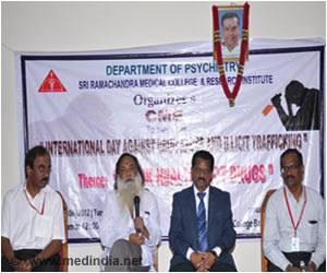 Rally in Chennai to Fight Drug Abuse and Illegal Drug Trafficking