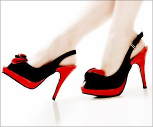 When Do High Heels Begin to Hurt?