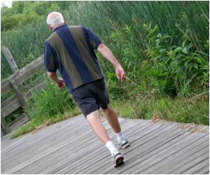Regular Walks keep off Brain Degeneration: Study