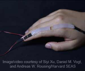 Soft, Safe Wearable Sensor Can Capture Hand and Finger Movements Effectively