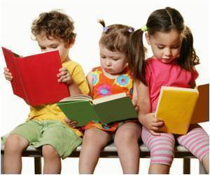 Showing 'Loud' Kids Turning into Quiet Readers While Growing