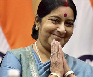 Minister Sushma Swaraj Stresses Quality Healthcare in India-Africa Ties