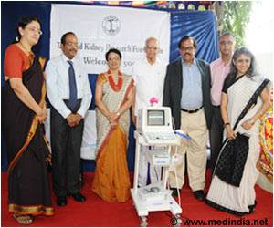 Bank Donates Ultrasound Machine for Kidney Disease Awareness and Prevention