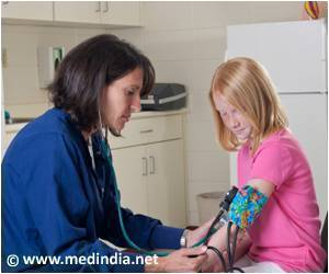 High Blood Pressure Risk in Mid-life can be Predicted in Childhood