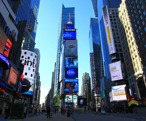Times Square: Happiest Spot in New York City
