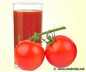 Tomato Juice: Key to Recover from a Workout